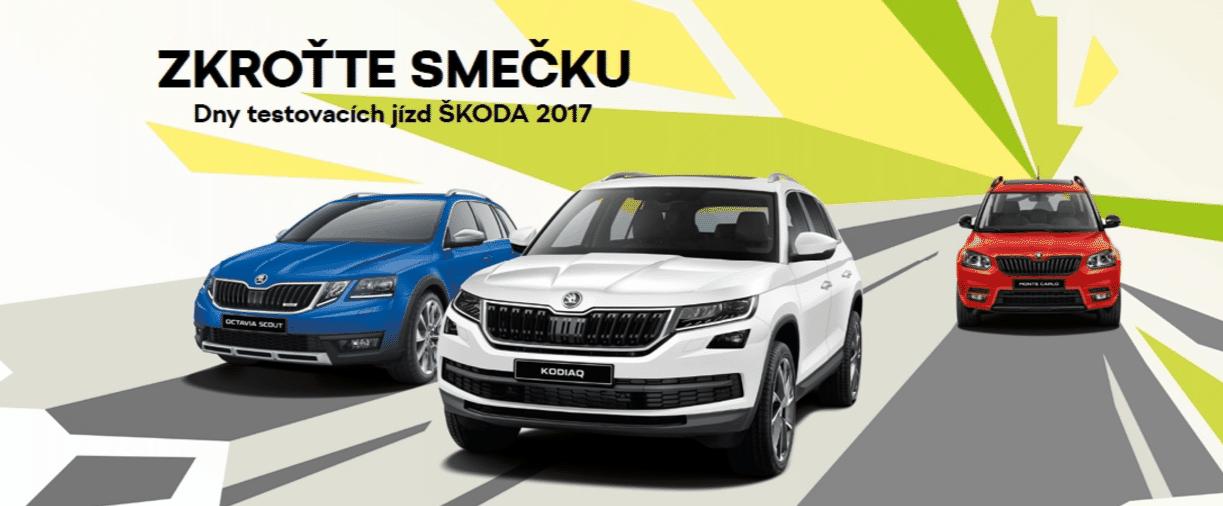 Dny testovacích jízd ŠKODA 2017 ŠKODA