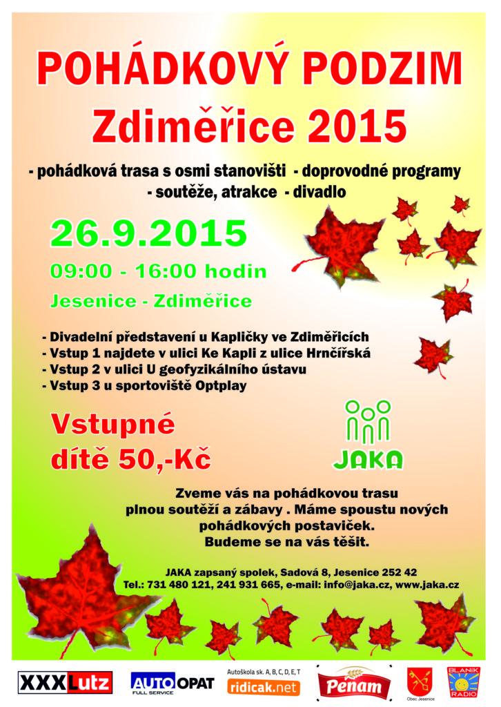 Pohádkový podzim 2015 - plakát