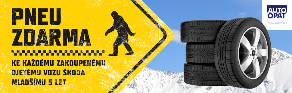 Auto Opat - zimní pneu zdarma