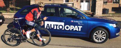 Auto Opat - sponzor cyklisty Ondřeje Cinka