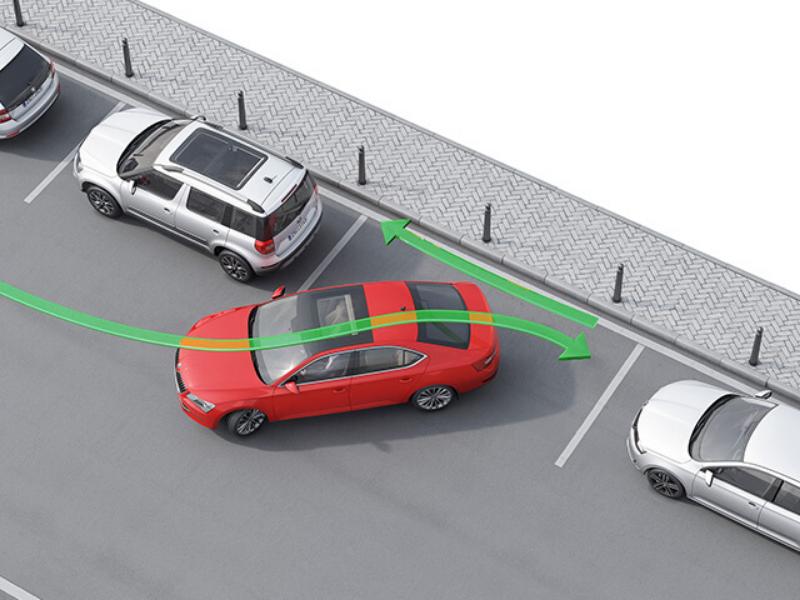 Návody, jak správně parkovat: podélné, příčné i kolmé parkování